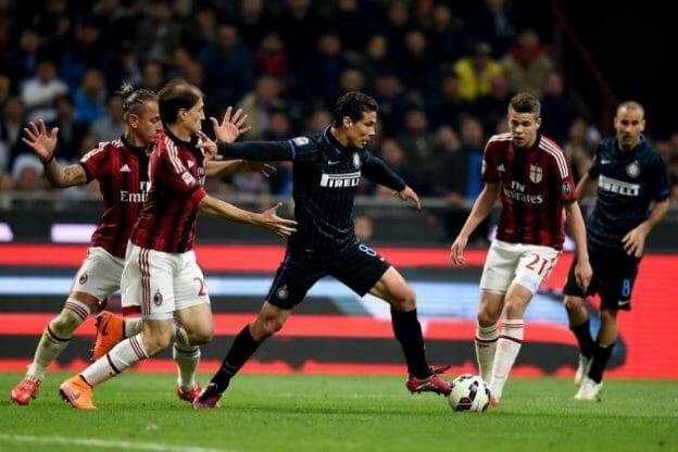 Prediksi Skor AC Milan vs Inter Milan28 Desember 2017