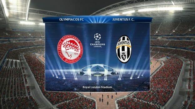 Prediksi Skor Olympiakos Piraeus vs Juventus 6 Desember 2017