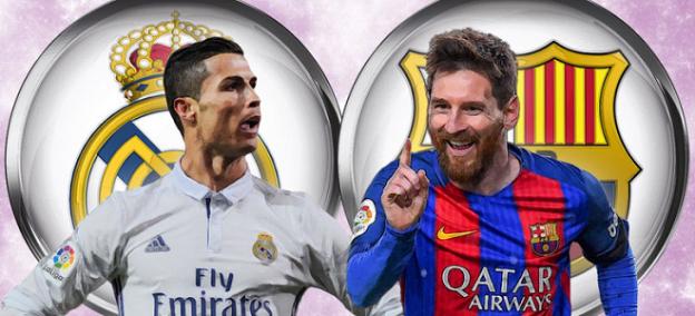 Prediksi Skor Real Madrid vs Barcelona23 Desember 2017
