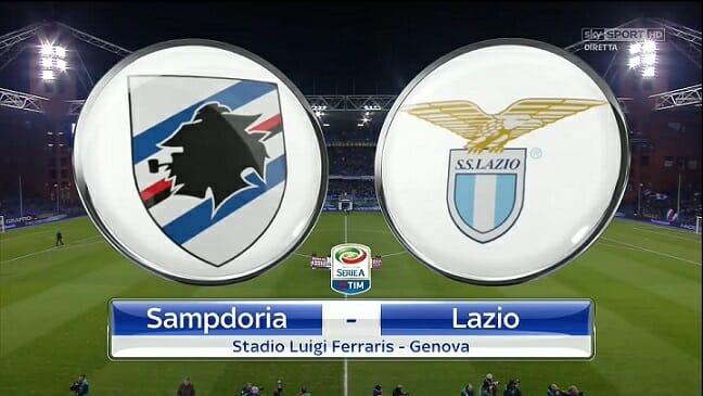 Prediksi Skor Sampdoria vs Lazio 4 Desember 2017