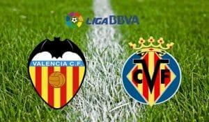 Prediksi Skor Valencia vs Villarreal23 Desember 2017