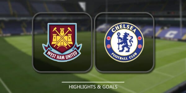 Prediksi Skor West Ham United vs Chelsea9 Desember 2017