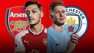 Prediksi Skor Arsenalvs Manchester City2 Maret 2018