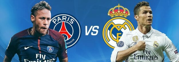 Prediksi Skor PSGvs Real Madrid7 Maret 2018