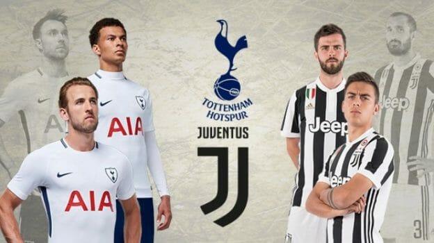 Prediksi Skor Tottenham Hotspurvs Juventus8 Maret 2018
