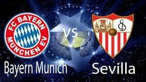 Prediksi Skor Bayern Munchenvs Sevilla12 April 2018