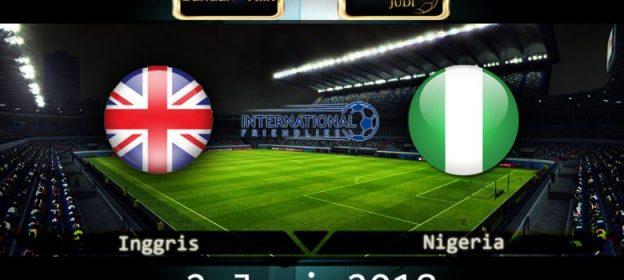 Prediksi Skor Inggris vs Nigeria 2 Juni 2018