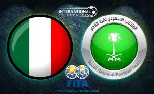 Prediksi Skor Italia vs Saudi Arabia 29 Mei 2018