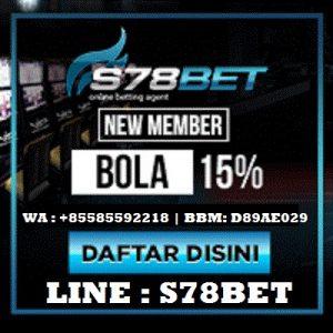 S78Bet Daftar Judi Casino Live Indonesia Resmi 2018