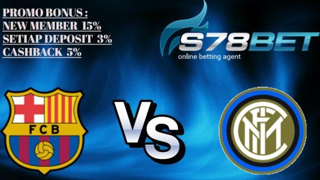 Prediksi Barcelona vs Internazionale 25 Oktober 2018