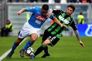 Prediksi Skor Napoli vs Sassuolo 14 Januari 2019