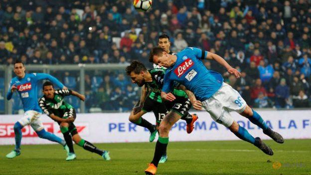 Prediksi Skor Sassuolo vs Napoli 11 Maret 20l9