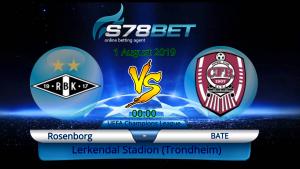 Prediksi Skor Rosenborg vs Bate 1 Agustus 2019
