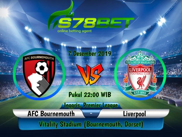 Prediksi Skor AFC Bournemouth vs Liverpool 7 Desember 2019