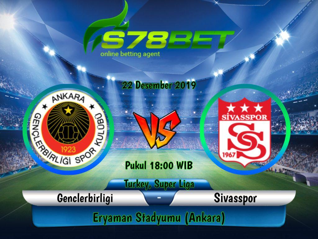 Prediksi Skor Genclerbirligi vs Sivasspor 22 Desember 2019