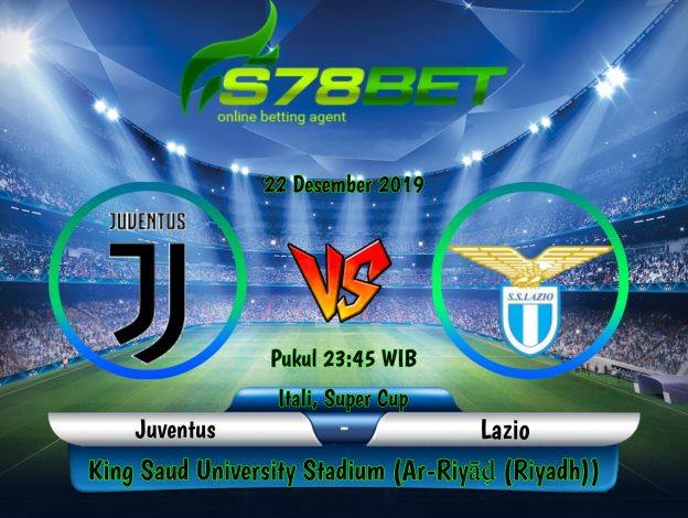 Prediksi Skor Juventus vs Lazio 22 Desember 2019