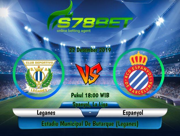 Prediksi Skor Leganes vs Espanyol 22 Desember 2019
