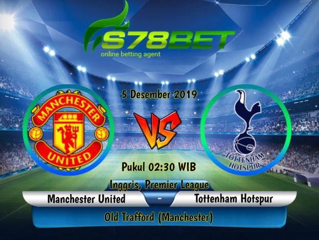 Prediksi Skor Manchester United vs Tottenham Hotspur 5 Desember 2019